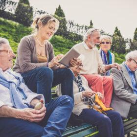 bijneenkomst senioren
